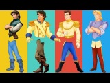 Wrong Legs Prince Charming Philip Flynn Rider John Smith Finger Family Learn Colors Nursery Rhyme
