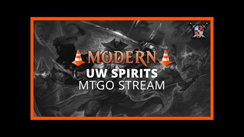 UW Spirits Modern Test Drive MTGO Stream
