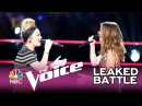 """The Voice 2017 - Addison Agen vs. Karli Webster: """"Girls Just Want to Have Fun"""" (Sneak Peek)"""