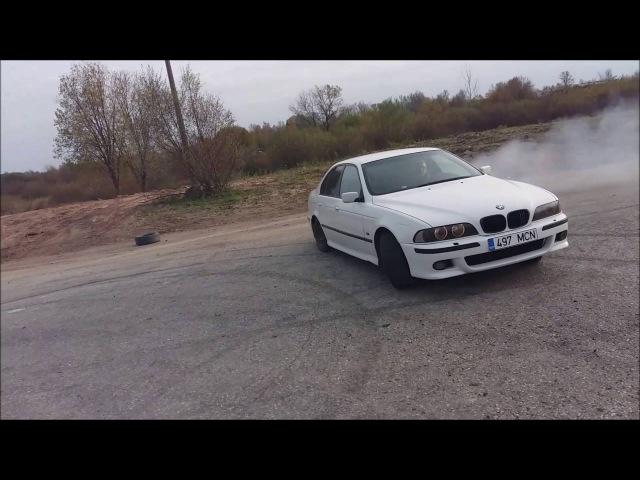 BMW E39 540 manual drift