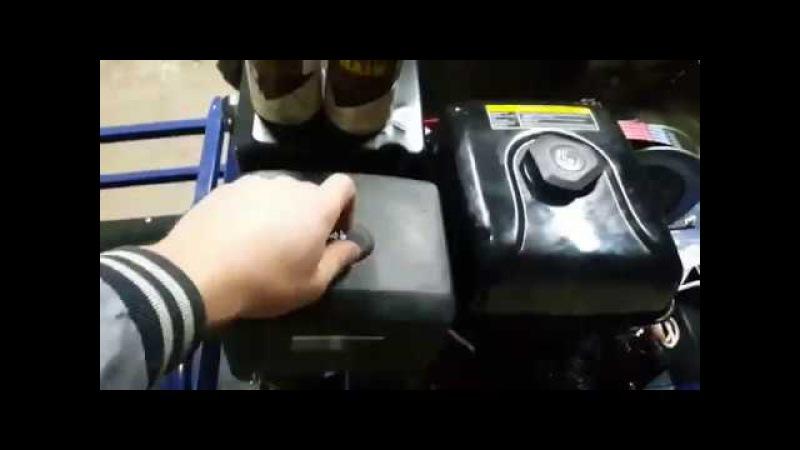 Как предотвратить закусывание тросика газа на мотобуксировщике