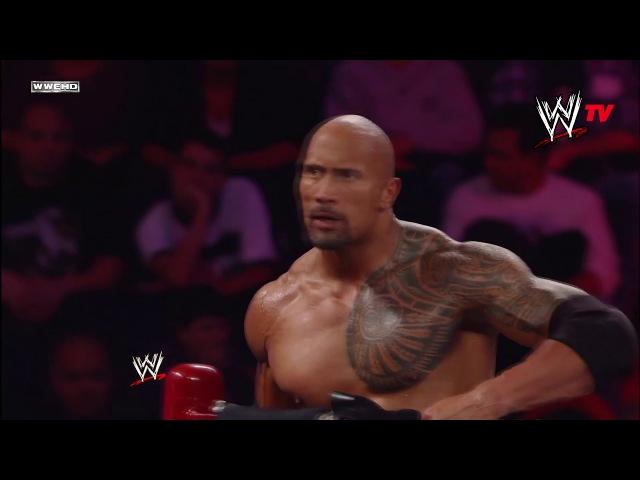 The Rock John Cena vs R Truth The Miz