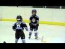 Драка в детском хоккее