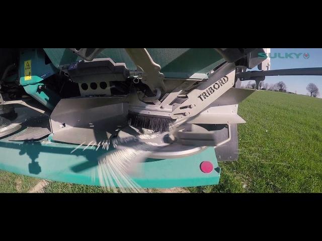 Epandage d'engrais 2018 - SULKY X50 - ISOBUS - ECONOV - John Deere 6195R