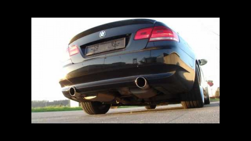 BMW E92 335i Coupe with Jb4 map 6 acceleration 0-120km/h and sounding