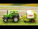 Трактор и Грузовичок Развивающие Мультики про МАШИНКИ Видео для детей