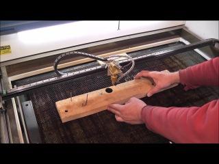 Лазер CO2 который режет 15 мм. фанеру!