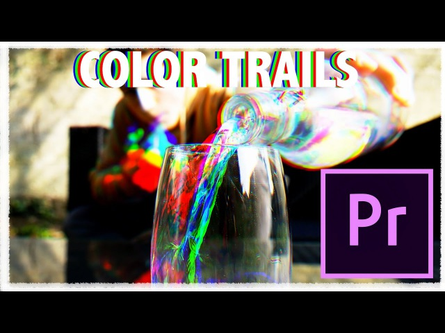 Trippy COLOR TRAILS effect (easy)