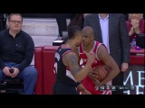 Damian Lillard Not Happy With Chris Paul Blazers vs Rockets Jan 10, 2018 2017-18 NBA Season