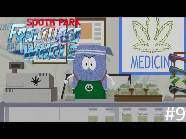 ПОЛОТЕНЧИК -- 9   South Park :The Fractured but Whole   PS4