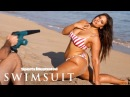 Ashley Graham Gets Flexible Teaches You How To Balance Candids Sports Illustrated Swimsuit