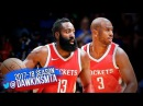 James Harden Chris Paul Full Highlights 2017 10 03 vs Thunder 27 Pts 17 Assists Combined