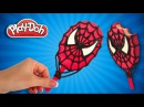Spiderman Ice Cream. Creative Superhero Play Doh Ice Cream. Spider-man Popsicle. DIY Video for Kids