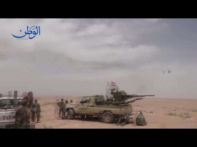 Российские вертолеты показали «убойную карусель» в Сирии Russian Helicopters