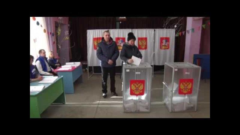 Голосование в сельском поселении Степановское.