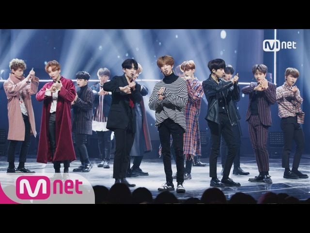 SEVENTEEN THANKS Comeback Stage M COUNTDOWN 180208 EP 557