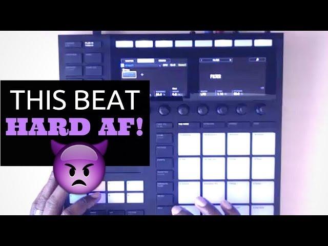 Hard AF Boom Bap | Maschine Mk3 Beat Making | Real Hip Hop Sample Pack Flip