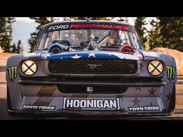 Ken Block's Climbkhana Pikes Peak Featuring the Hoonicorn V2 drift .music for drifting