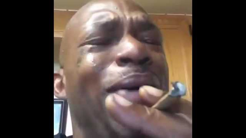 The weed is to strong made nigga cry