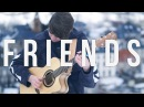 Marshmello Anne-Marie - FRIENDS - Fingerstyle Guitar Cover *OFFICIAL FRIENDZONE ANTHEM*