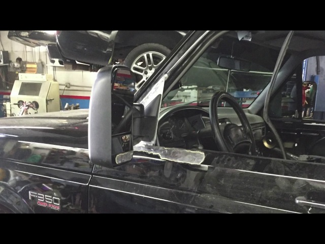Ford OBS F350 Chevy tow mirror conversion