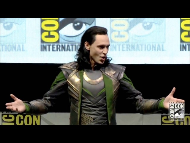 Loki Takes Hall H SDCC 2013 Comic Con FULL appearance