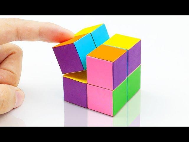 Как сделать кубик рубика своими руками из бумаги 51