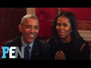 President Obama Michelle Obama Answer Kids' Adorable Questions | PEN | People