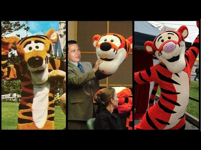 Evolution Of Tigger In Disney Theme Parks! with DEFUNCTLAND Guest Star! DIStory Ep. 16