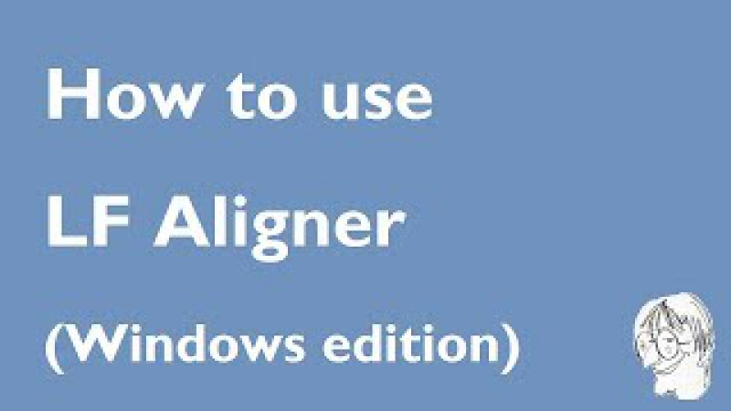 How to align two Word documents with LF Aligner (Windows edition)