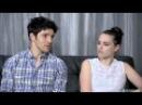 Colin Morgan & Katie McGrath EW Interview at San Diego Comic-Con 2012