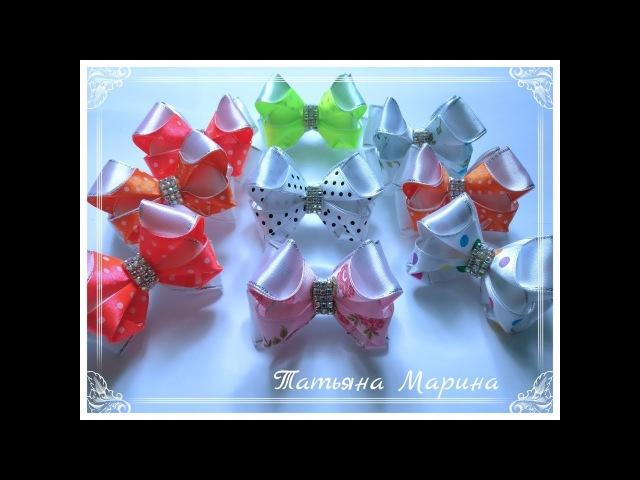 МК Крошечные бантики 6.5 см 🎀/Curvaturas minúsculas/Tiny bows