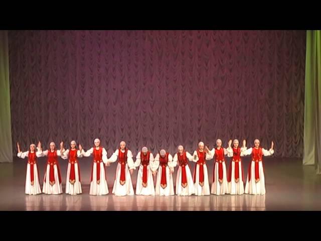 28 04 2016 г Анс танца Нежность Армянский лирический хоровод Хочу лететь г К