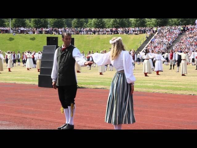 Эстония - праздник танца и песни - 06.07.2014 - видео 15