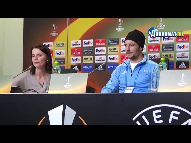 Капитан «Русенборга» Майк Йенсен: Иванович - самый сильный футболист Зенита