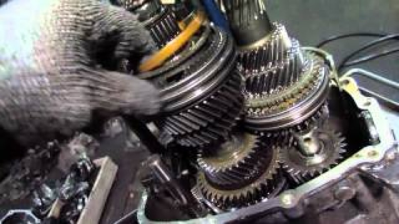 BMW 325 (БМВ 325) ремонт коробки