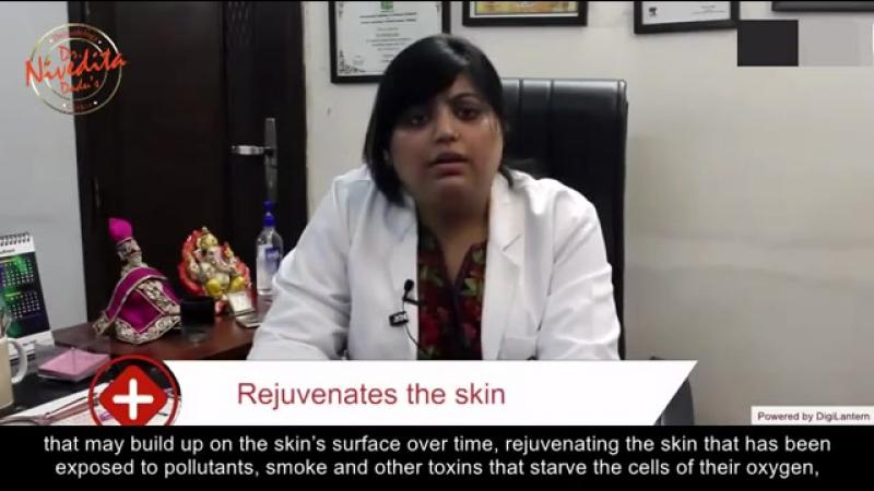 Oxygen Jet Peel Facial | Dr. Nivedita Dadu | Cosmetic Dermatology