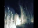 Дубаи фонтаны 2017