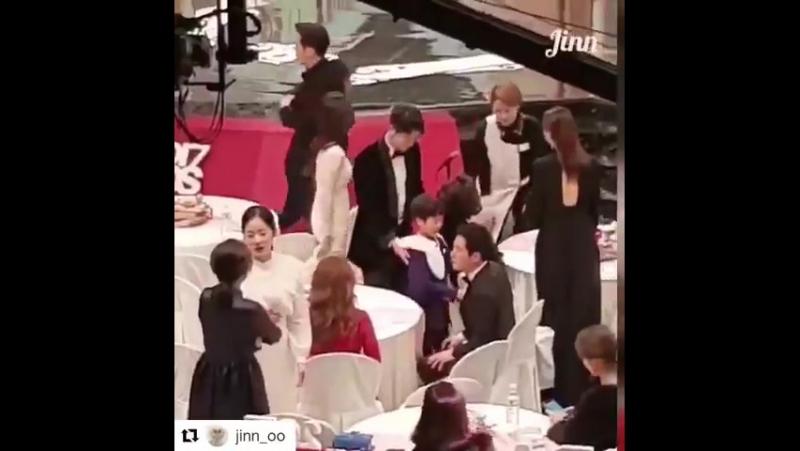 Minhuyk and cutie Chan Hee