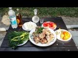 Баранина по-кавказски (шулюм в вине) (шулюм — наваристый суп из баранины, традиционная еда пастухов). Lamb in Caucasian.