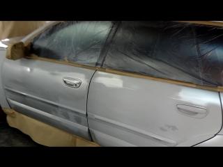 Подготовка к нанесению Plasti Dip на Subaru Outback