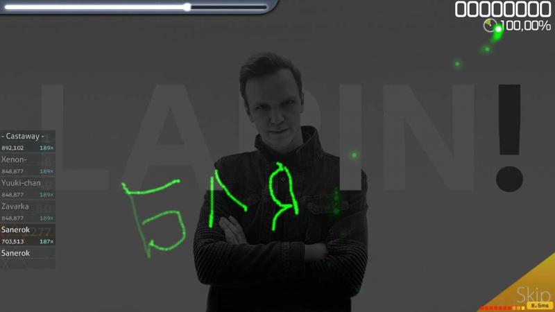55x55 - MRAZ' (feat Larin) [Insane]DT (osu!)