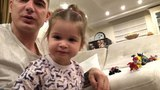 """Omarov Kurban on Instagram: """"Теона очень похожа на маму тем, что все время пытается перехватить инициативу. Поэтому иногда наши видео заканчиваются..."""