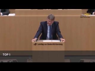 Prof. Dr. Meuthen (AfD) - für Flüchtlinge wird 3x mehr ausgegeben, als für Deutsche Familien