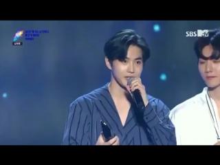 170920 EXO won Hallyu Popularity Award