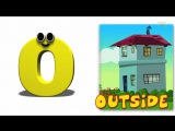 Phonics Letter- O song - Letter O Songs For Children - Alphabet Songs For Toddlers by Kids Tc