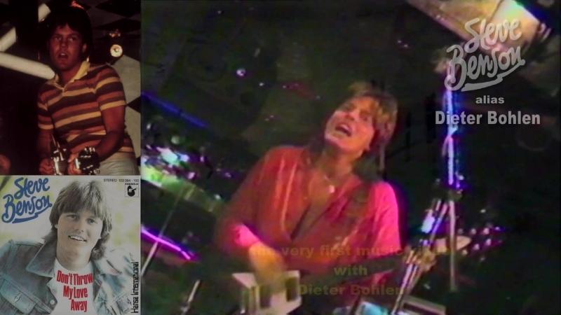 "His very first music video [1⁄2]: ""Steve Benson"" alias Dieter Bohlen - Dont throw my love away (1981)"