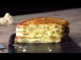 Сэндвич из цветной капусты! Легкий и вкусный рецепт без мяса.
