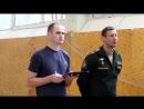 СМОТР спортивно-массовой работы в Ульяновском гвардейском суворовском военном училище