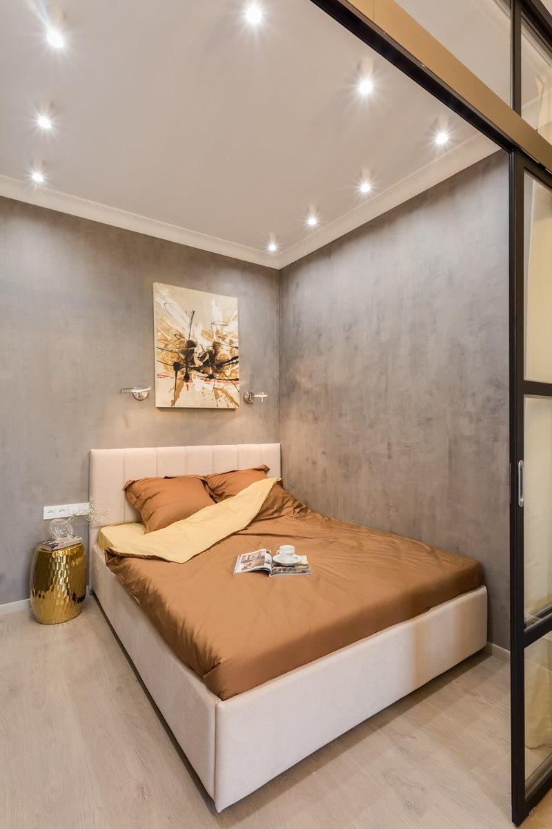 Интерьер квартиры 41 м под лофт в Химках.